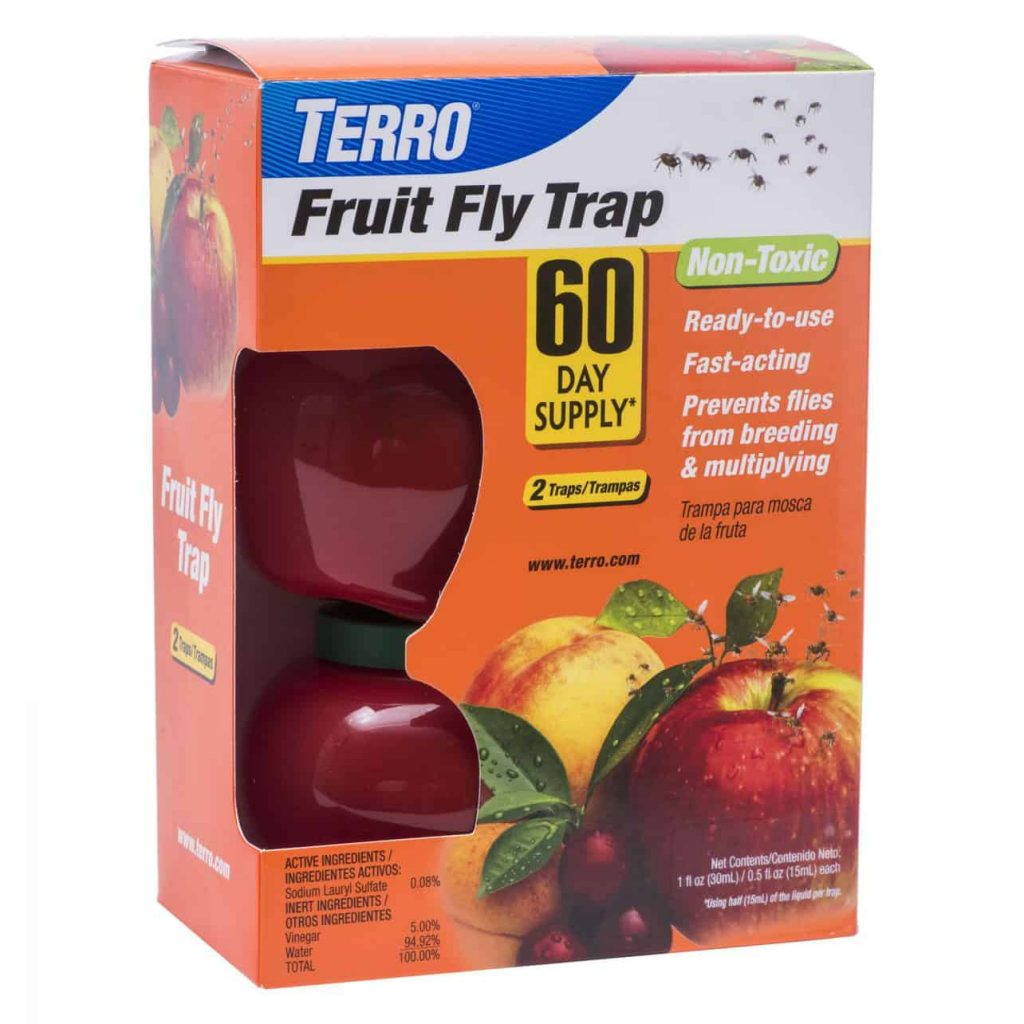 Terry fruit fly trap - effective fruit fly removal
