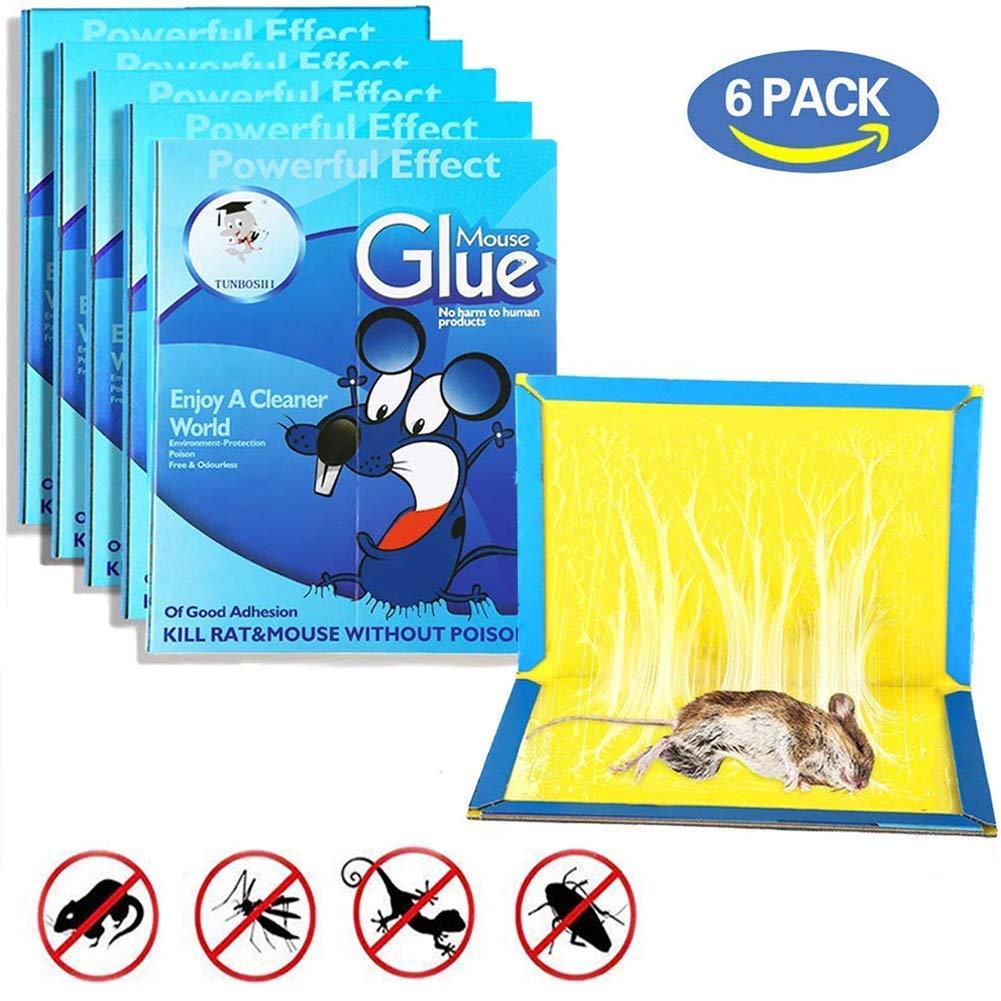 Sticky glue mouse trap