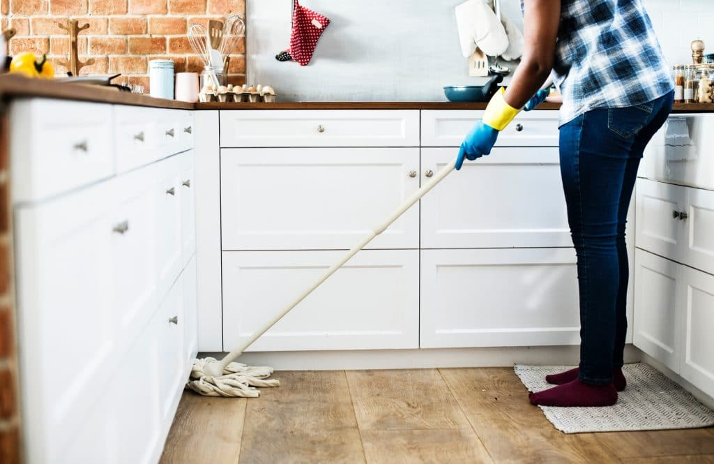 The best way to keep mice away is to keep a clean home